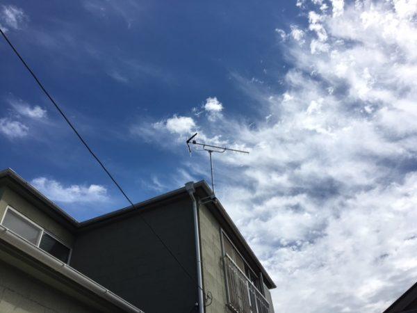 神戸市西区竜が岡で地デジアンテ...